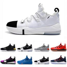 sale retailer 75d53 a567b Kobe AD EP Mamba Tagessegel Multicolor Herren Basketball-Schuhe Wolf Grey  Orange für AAA + Qualität schwarz weiß Mens Trainers Sports Sneakers 40-46