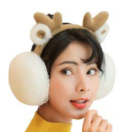 2019 atacado de fone de ouvido no inverno Luxo Mulheres inverno quente Earmuffs Grosso Plush Macio orelha regalos earlap Warmer New Earmuffs Headband mais novo