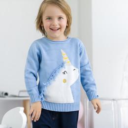 2019 suéteres jersey para niñas. Niña ropa para niños jersey de cuello redondo diseño de manga larga suéter de punto niño niña ropa suéter B97 suéteres jersey para niñas. baratos