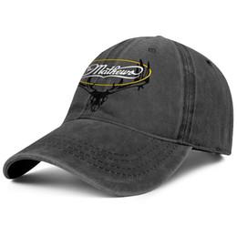 casquette de baseball en jean pour hommes Promotion Mathews Archery Logo noir pour hommes et femmes Denim Cap trucker cap design de designer de baseball chapeaux de sport Noir