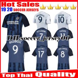 fd8145575 2019 2020 Top thai quality MLS LA Galaxy Soccer Jersey 19 20 Los Angeles  Galaxy IBRAHIMOVIC GIOVANI DOS SANTOS KAMARA Football Jerseys Shirt