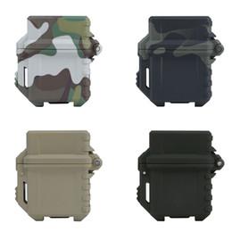 Outdoor Multitool Werkzeuge taktische leichter Aufbewahrungskoffer Universal tragbare Box Container Organizer Halter für Zippo Innentank von Fabrikanten