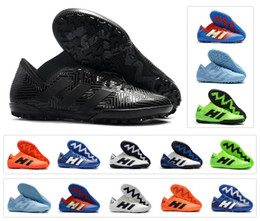online retailer 94600 9657c Hot Nemeziz Messi Tango 18.3 TF IC Turf tacchetti bassa caviglia 18 Mens scarpe  da calcio scarpe da calcio tacchetti taglia 6.5-11