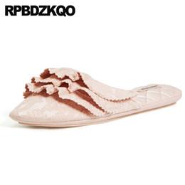 d1209b279bd big size bedroom slides pink korean shoes women cute guest home house  autumn indoor ladies brand designer slippers plus plain