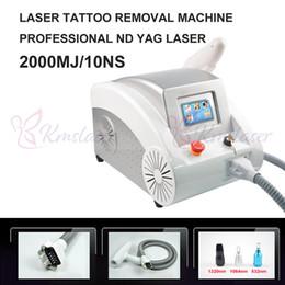 nd fabbrica rimozione del tatuaggio laser yag Sconti Rimozione del tatuaggio del laser della macchina del laser del yag del ND ND Trattamento della bambola del nero Attrezzatura professionale di rimozione del tatuaggio Approvazione del CE con il prezzo franco fabbrica