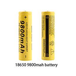 батарейки для элементов питания 377 Скидка 10 шт. новый оригинальный 18650 аккумулятор 3.7 v 9800mah литиевая аккумуляторная батарея для SKOANBE фонарик батареи vtc5 батареи