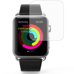 Apple assistir filme temperado de alta definição relógio inteligente filme de vidro temperado Apple 2 geração filme 9H dureza, zero, desgaste e fingerp de