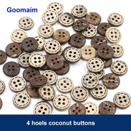500 pièces / lot 25 mm couleur naturelle 4 trous boutons de noix de coco texture naturelle boutons décoratifs pour vêtements de bricolage couture boutons décoratifs de bricolage ? partir de fabricateur
