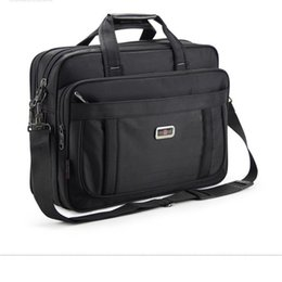 e5191e65a47c 2019 New High Quality Waterproof And Durable Nylon Cloth Classic Briefcases  For Men Handbags Business Travel 15 Inch Laptop Bags