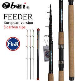 2019 carpe canne à pêche coulée télescopique Travel Rod 3.3 3.6 vara de pesca Carp Feeder 60-180g pole carpe pas cher