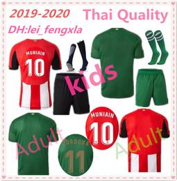 Camisetas de futbol de bilbao online-niños 2019 2020 Athletic Bilbao KITS JERSEYES DE FÚTBOL INICIO YURI B. 12 I.MARTINEZ 4 MUNIAIN WILLIAMS 19 20 CAMISETAS DE FÚTBOL JERSEY