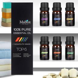MABOX Beauty Aromatherapy Top 6 des huiles essentielles 100% Pure Kit Thérapeutique Sampler Coffret Cadeau ? partir de fabricateur