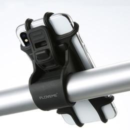 Bisiklet Telefon Tutucu Silikon Ayarlanabilir Çekme Düğmesi Anti-Akıllı Telefon GPS Bisiklet Tutucu için GPS Tutucu B ... nereden