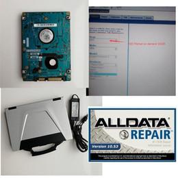 Alldata с ноутбуком готов к работе ALLDATA 10.53 Митчелл на demend 2015 1 ТБ HDD CF52 Toughbook ноутбук высокого качества от