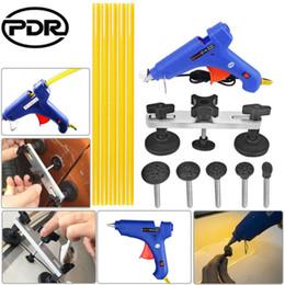 schede di colla pdr Sconti PDR Pulling Bridge Glue Gun Colla Sticks Tabs Dent Repair Tools