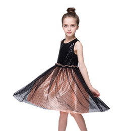 19ac101d907 Kids Clothing Girl s Dresses Children s wear girls mesh skirts spring and  summer children s sequin dress 2443