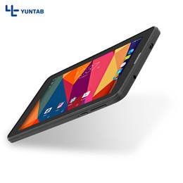 Kortex telefon online-Yuntab 7 '' E706 GPS Doppel Mini SIM Karte 1,2 GHz Quad Core Cortex A7 Dual Kamera 1 GB + 8 GB Telefonanruf Tablet PC