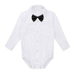 Tuta gentile online-Camicie convenzionali da neonato Neonato Modis Body Abiti da festa di nozze Body infantil Body Abiti Abiti da bambino
