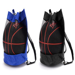 Filet de sports de plein air en Ligne-Basket-ball Sac à dos en tissu Oxford Cross Body Bag Basketball Sacs Sports Net Voyage Volley Sacs à bandoulière Sacs à dos en plein air