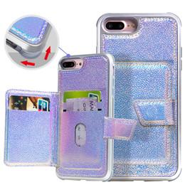 2019 abdeckung iphone 4s hund Hybird 2in1 PU Leder Handyhülle für iPhone 6 7 8 plus x xr xs max Geldbörse stoßfest mit Kreditkartenfächern