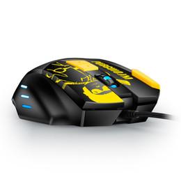 nouveaux ordinateurs portables en gros Promotion Souris de jeu professionnelle 4000 DPI 8 boutons LED souris optique filaire USB pour ordinateur de jeu pro souris GM18 pour jeu PUBG
