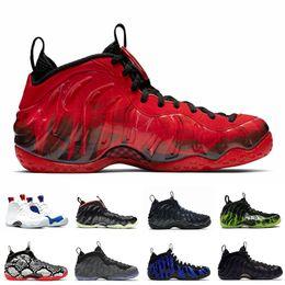 Doernbecher Penny Hardaway scarpe da basket uomini Foam Uno Vandalised Habanero Red Night Lights nero mens formatori Sport Sneakers 7 13