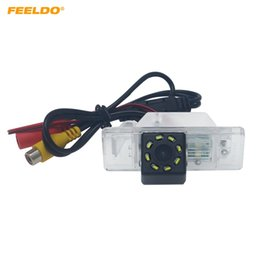 2020 le luci citroen c4 hanno condotto le luci Feeldo Special Car di sostegno di retrovisione macchina fotografica con LED per Citroen C-Quatre C4 C5 inverte la macchina fotografica # 6172 le luci citroen c4 hanno condotto le luci economici