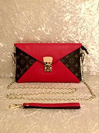 Canada Haute qualité classique dames chaîne embrayage sac PU cuir souple dames robustes petite entreprise embrayage sac à main épaule diagonale paquet gratuit Offre