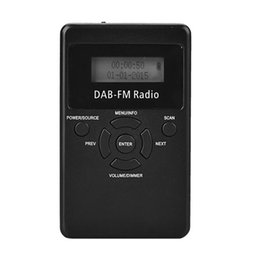 lettore mp3 al litio Sconti Fonte di commercio estero mini mini radio digitale DAB mini radio digitale DAB + FM radio Tensione nominale 3,7 (V) Potenza nominale 12,5 M (W)