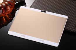 octa phone grátis Desconto Frete grátis 10 polegada Tablet pc Octa Núcleo 4 GB RAM 64 GB ROM dual sim WiFi FM IPS Telefone GPS Crianças Tablets 3G WCDMA + presentes