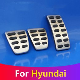 Pedal Cover Fuel Gas Brake Foot Rest Housing No Drilling For Ford Kuga AT 13-17