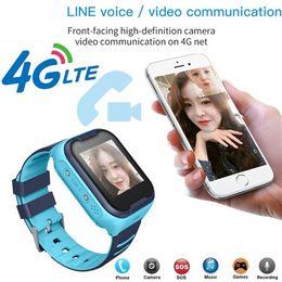 новые часы-шпионы Скидка 2019 высокое качество дети смарт-часы 4G Wifi GPS трекер часы телефон SOS будильник камеры отслеживания местоположения 723/