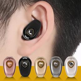 auriculares bluetooth para orejas pequeñas Rebajas Auriculares inalámbricos Bluetooth V20 Mini botón Auriculares invisibles Música pequeña Auriculares intrauditivos Manos libres con micrófono para teléfonos celulares