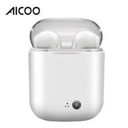 2019 продать samsung galaxy s5 Aicoo Tws I7s Кристалл II Близнецы наушники Беспроводные Bluetooth наушники универсальные гарнитуры стерео наушники для iPhone Samsung розничной упаковке