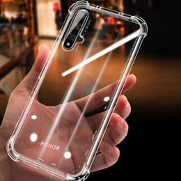 Caja del teléfono g9 online-Para mágica primer Pro Lite 2019 2018 Claro Airbag TPU caja del teléfono suave transparente de la contraportada del Huawei Y9 Y7 Y6 Y5 Y3 G9
