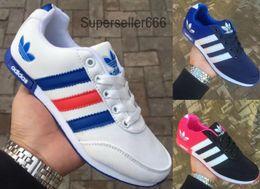 Zapatillas de cordones online-A210 Tamaño 36-45 Zapatos para correr de marca para hombre, mujer, corte bajo, con cordones, zapatos deportivos al aire libre zapatillas de deporte unisex zapatillas para caminar