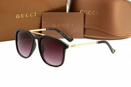 Argentina Mejores ventas Hombres Mujeres Gafas de sol de moda Marco de metal redondo verde dorado 50 mm Lentes de cristal Diseñadores Gafas de sol Excelente calidad supplier golden frames sunglasses Suministro
