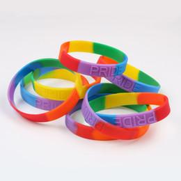 Fashion 5Pcs silicone elastic rubber band Bracelet wristband Bangles /_vi