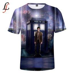 magliette mediche Sconti Maglietta casual stile Harajuku Modis Maglietta estiva più nuova T-shirt uomo donna TV popolare 3D Stampa Doctor Who Tops Clothing
