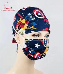 cappelli di tacchino all'ingrosso Sconti Berretto chirurgico per uomini e donne infermieri medici che lavorano in ospedale