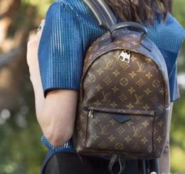 mochila punk negro rojo Rebajas 2019 Comercio al por mayor Bolso de cuero genuino bolso de la manera de las mujeres mochila bolso bolso presbicia mini paquete bolsa de mensajero 101