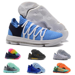 13ebe4932ab8 New Zoom KD 10 Mens Basketball Shoes Cheap Anniversary University Red Still  Kd Igloo BETRUE Oreo Kevin Durant Rainbow Wolf Sports Shoe discount cheap  mens ...