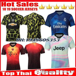 352eea028 New 2018 2019 EA Sports digital INSANE Munich united JUVENTUS REAL MADRID SOCCER  JERSEY 18 19 fourth Outstanding uniforms football shirts discount man ...
