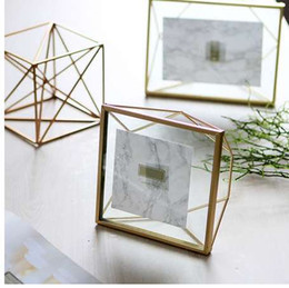 discount american furniture bedroom american furniture bedroomamerican furniture bedroom 2019 glass geometry picture frame created nordic metal decor furniture family picture