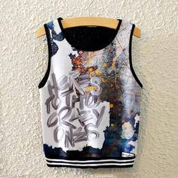 2020 chalecos ingleses 2019 verano nueva representación de las mujeres Inglés delgado estiramiento de cintura alta chaleco deportivo corto camiseta de las mujeres tide tops rebajas chalecos ingleses