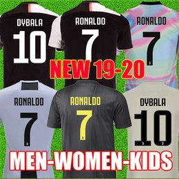 8176d102b jersey football league Coupons - Thailand RONALDO Juventus 2019 2020  champions league soccer jerseys DYBALA 18