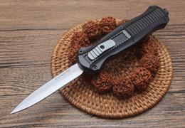 2019 couteaux sur mesure Offre spéciale (papillon) 3300 AU matic chasse pliant couteau de poche couteau de survie couteau cadeau de Noël pour les hommes copies BENCHMADE