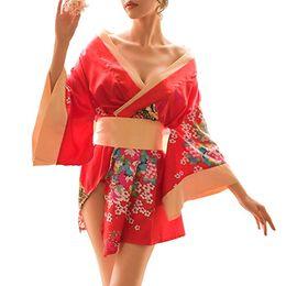 Pijamas de trajes de Yukata de estilo Kimono tradicional japonés para mujeres de 2019 desde fabricantes