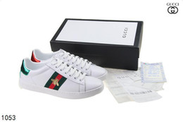I piloti scaricano le donne online-Hot Ace Bee Embroidery Donna Uomo Sneakers Scarpe sportive Ace Driver ricamati Espadrillas Sneakers Flats Shoes