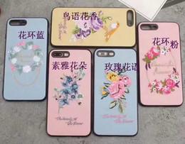 telefono 3d cinese Sconti 3D Ricamo Custodia in stile cinese per iPhone XS MAX XR X 8 7 6 Plus 6S Cover Fashion Luxury Flower Tpu morbido in silicone Phone Skin Lanyard Strap